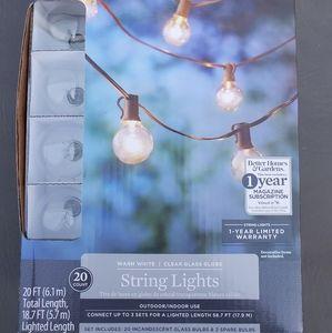 Better Homes & Gardens Warm White String Lights